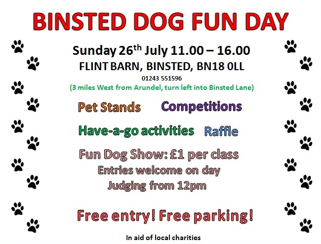 Binsted dog fun day