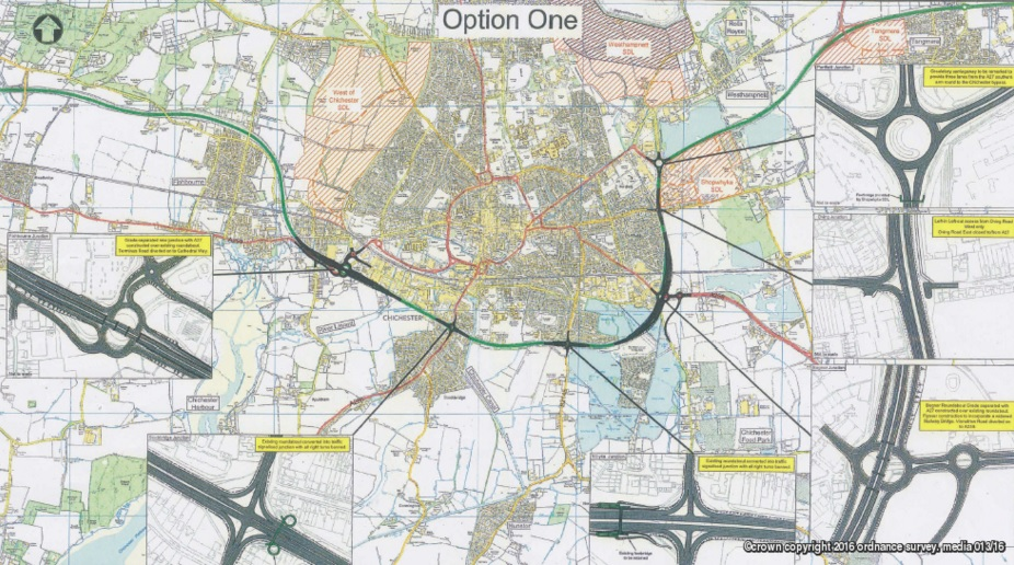 Chichester A27 Option One