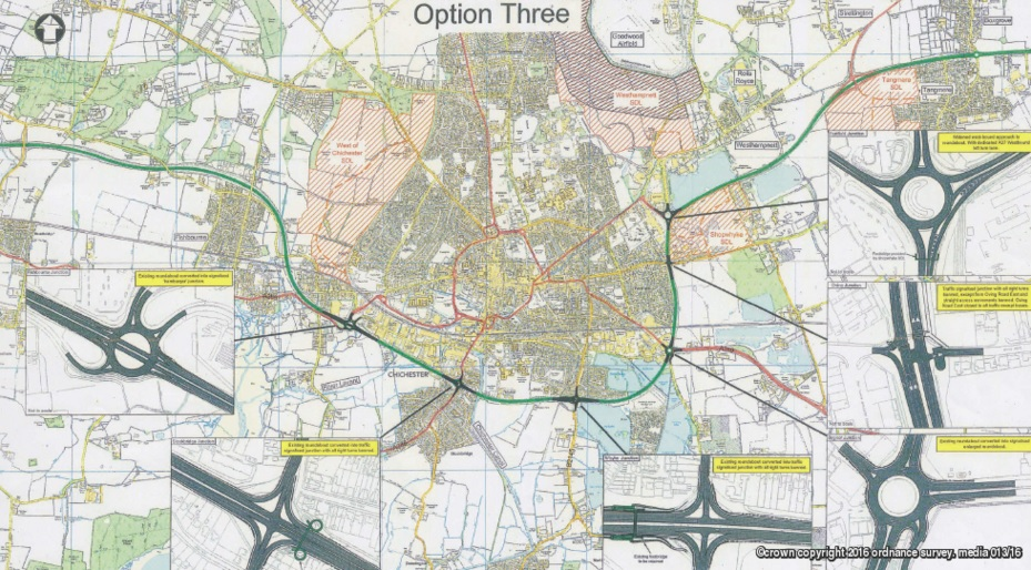 Chichester A27 Option Three